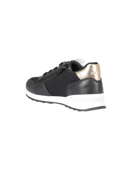 Sneakers Camoscio Tela Blu